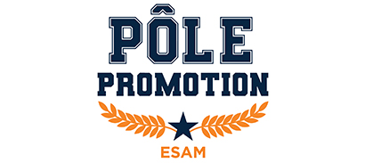 Pôle Promotion de l'ESAM, Ecole de finance, Management, droit